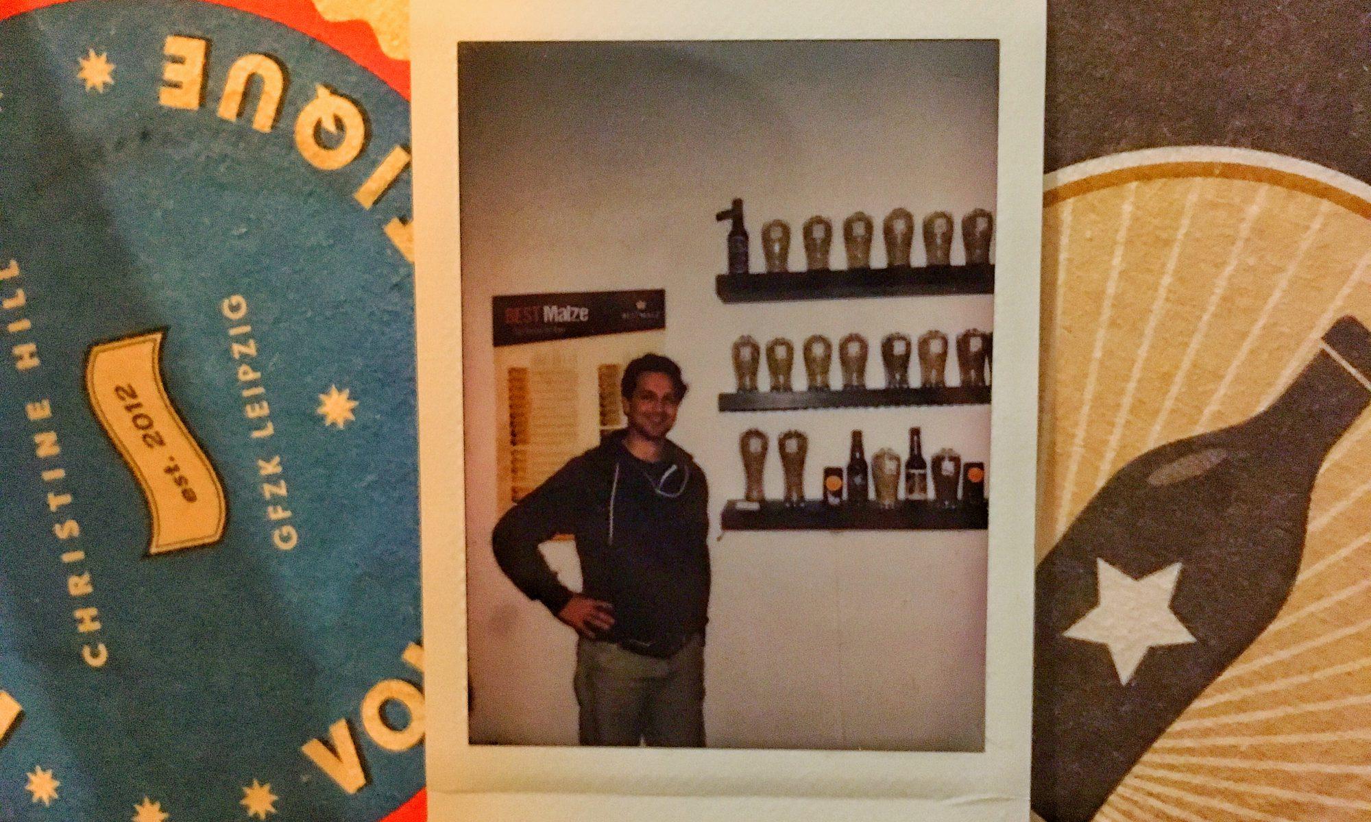 Brian Schlede von BrewCraft für HHopvast, der Craft Bier Podcast aus Hamburg.