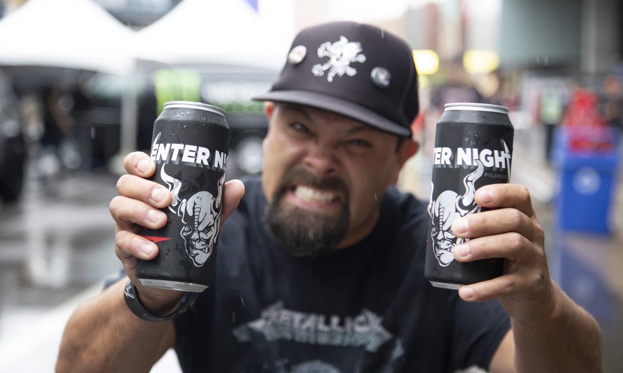 Metallica eigenes Bier trägt den Namen Enter The Pilsner und stammt von Arrogant Consortia