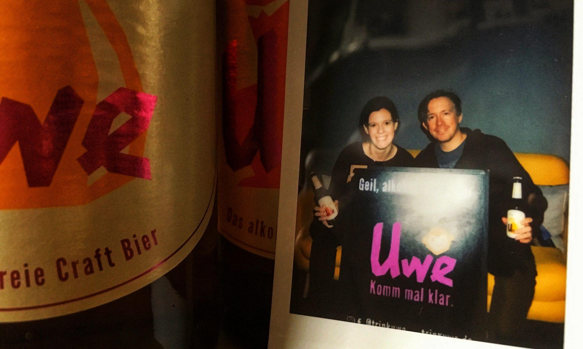 Die UWE-Bierlabel-Macher Laia Gonzales und Sönke Schmidt aus Hamburg über alkoholfreies Craft Bier im HHopcast Bierpodcast