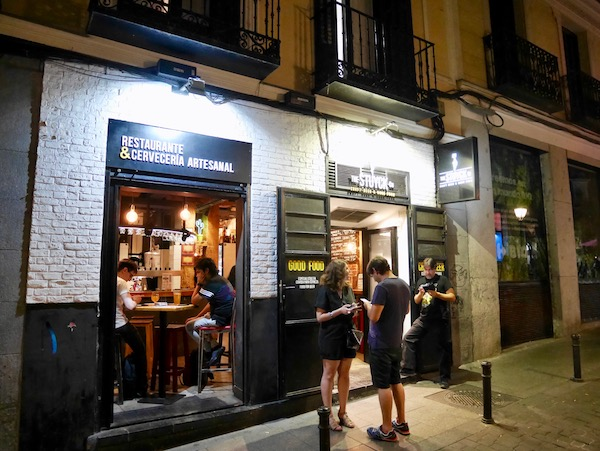 Bier und Bars in Madrid