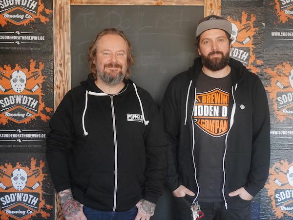 Sudden Death aus Timmendorf zu Gast bei HHopcast, dem Craft Beer Podcast aus Hamburg