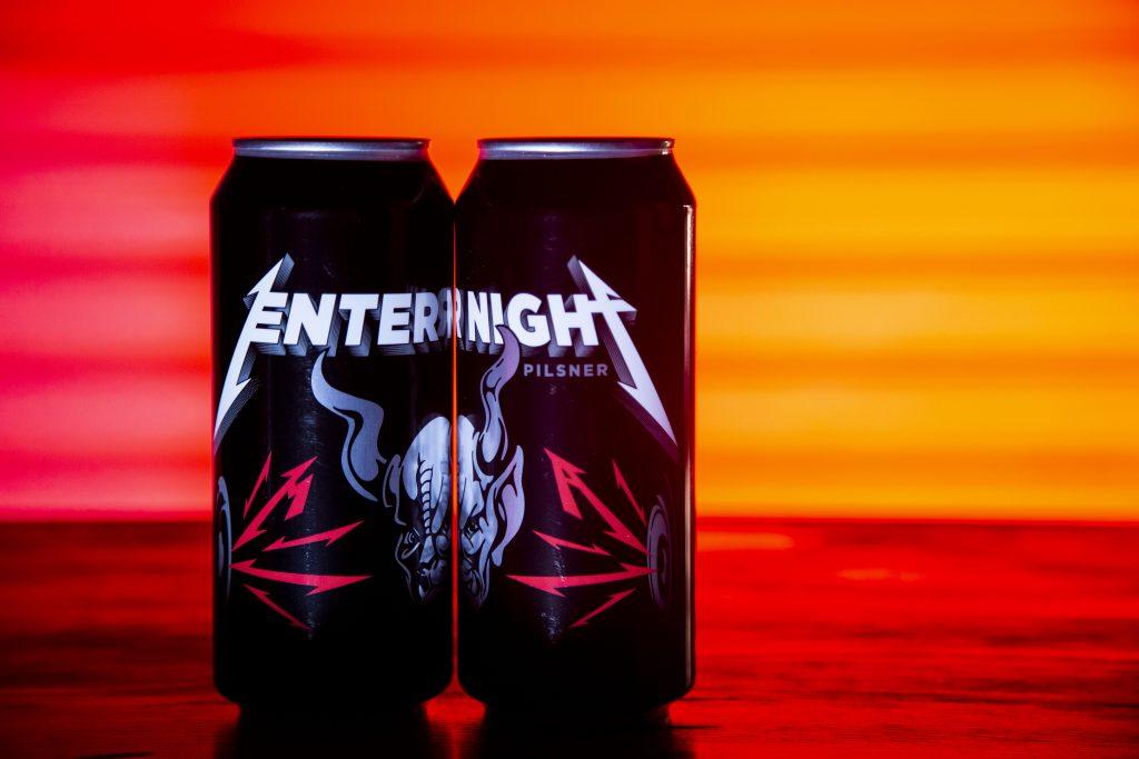 Metallica trinken demnächst nur ihr eigenes Bier: Das Enter Night Pilsner. Foto: Stone Brew
