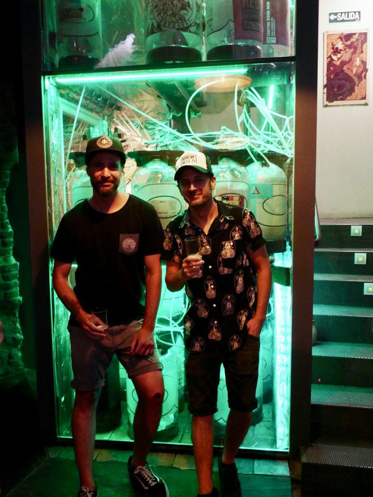 Benjamin und Carlos von Brew Wild / La Cinque