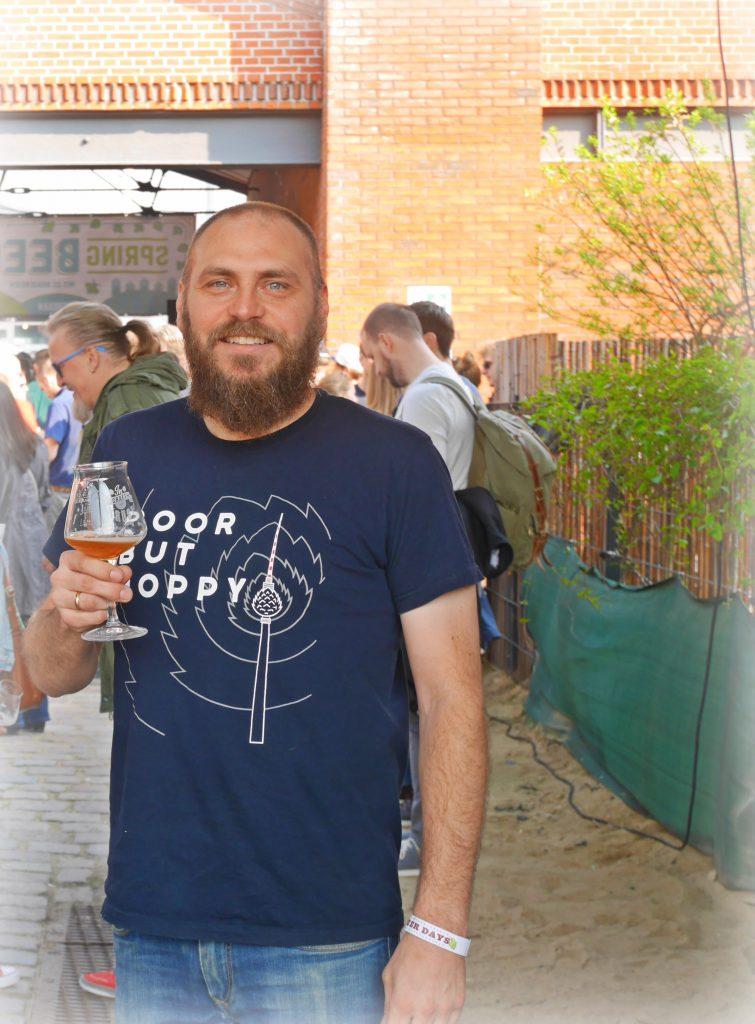 Brian Trauth von Bräugier auf dem Spring Beer Day 2019 zu Gast bei HHopcast, dem Craft Beer Podcast aus Hamburg