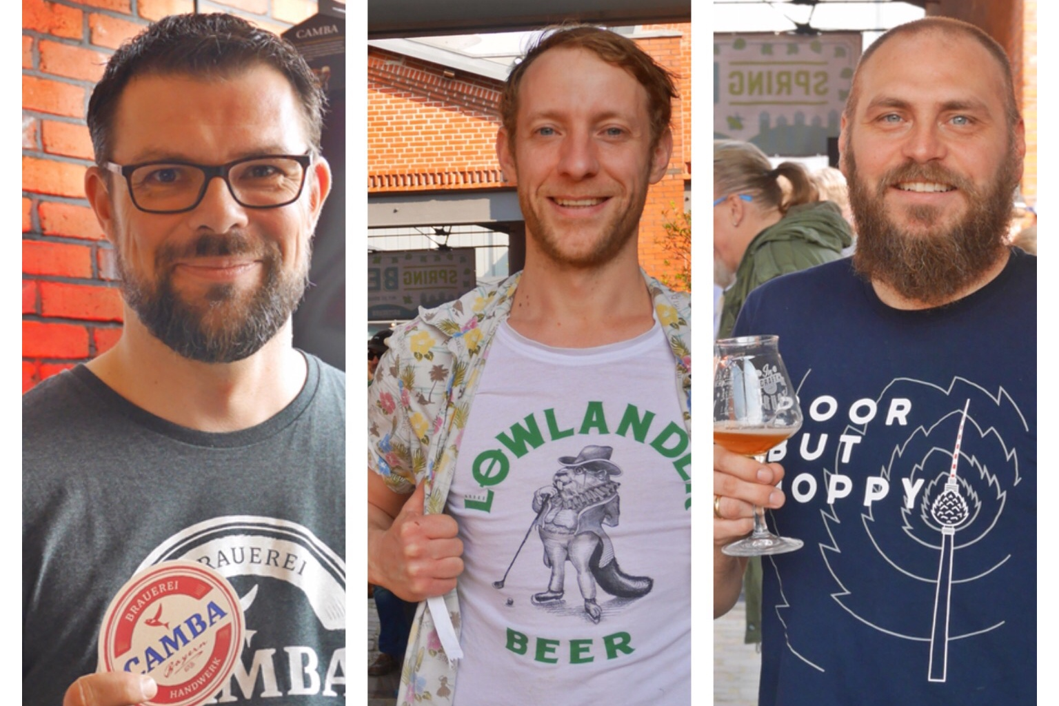 23: Spring Beer Day 2019: Camba, Lowlander, Braeugier