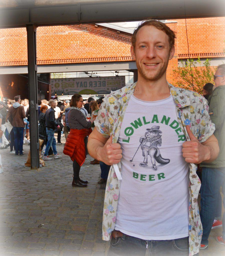 Jimmy Gremillon-Merry, Brand Ambassador at Lowlander Beer Co, auf dem Spring Beer Day 2019 in Hamburg zu Gast bei HHopcast, dem Craft Beer Podcast aus Hamburg