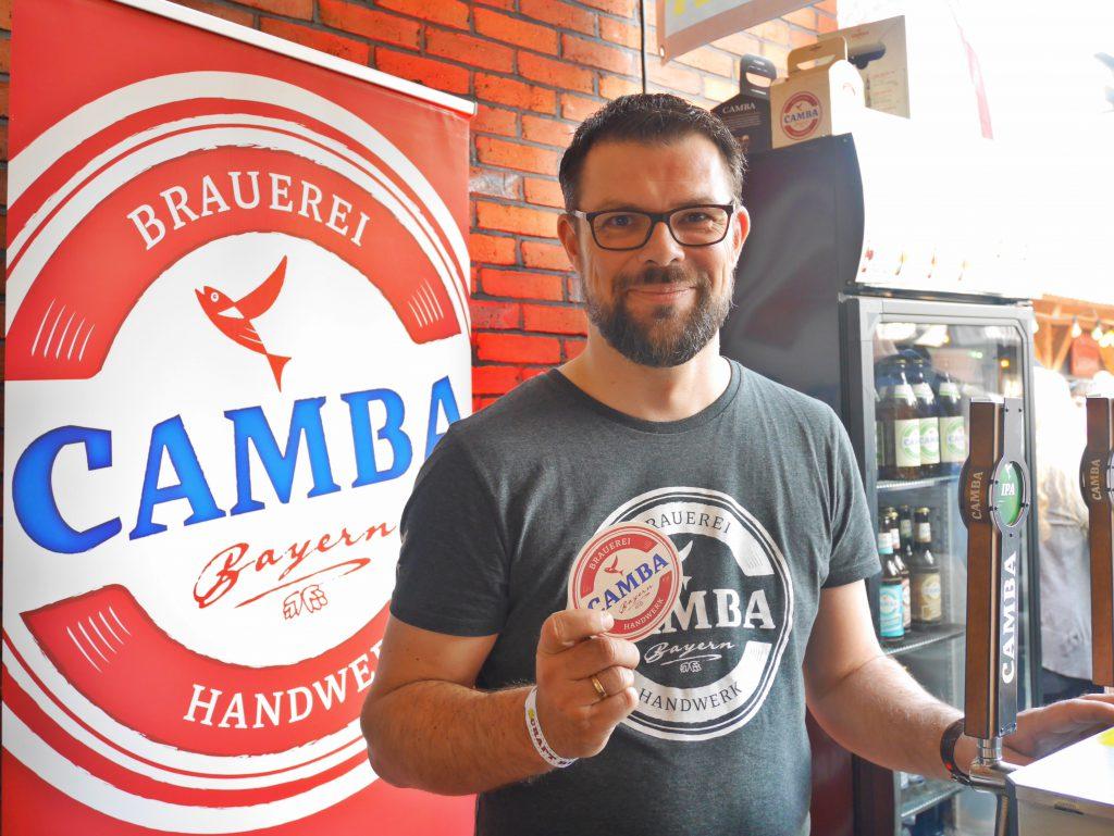 Lars Kuehne von Camba auf dem Spring Beer Day 2019 in Hamburg zu Gast bei HHopcast, dem Bier-Podcast