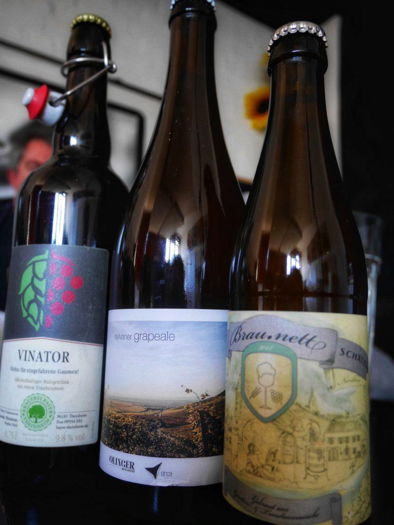 Bier-Wein-Hybride: Mehr Bier als Wein oder umgekehrt? Unser Thema im HHopcast-Podcast Nummer 24