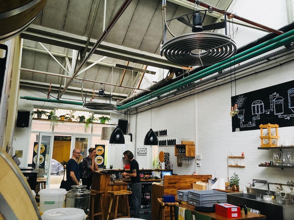 Bottle Distillery Eindhoven HHopcast auf Bierreise