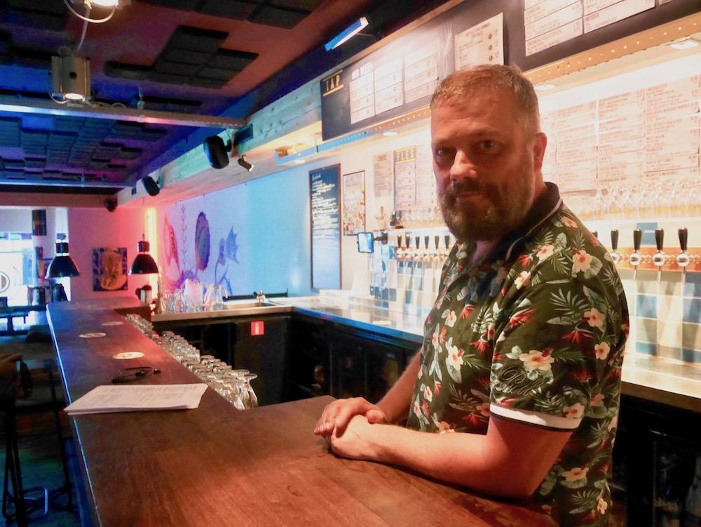 Erwin Van Moll in Eindhoven bei HHopcast dem Bierpodcast aus Hamburg