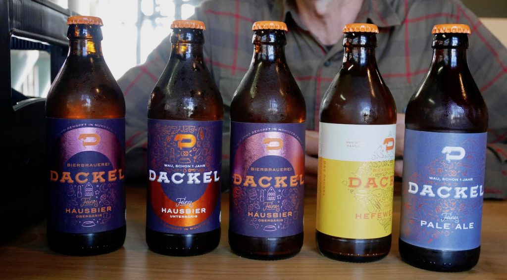 Brauerei-Dackel-Standardbiere
