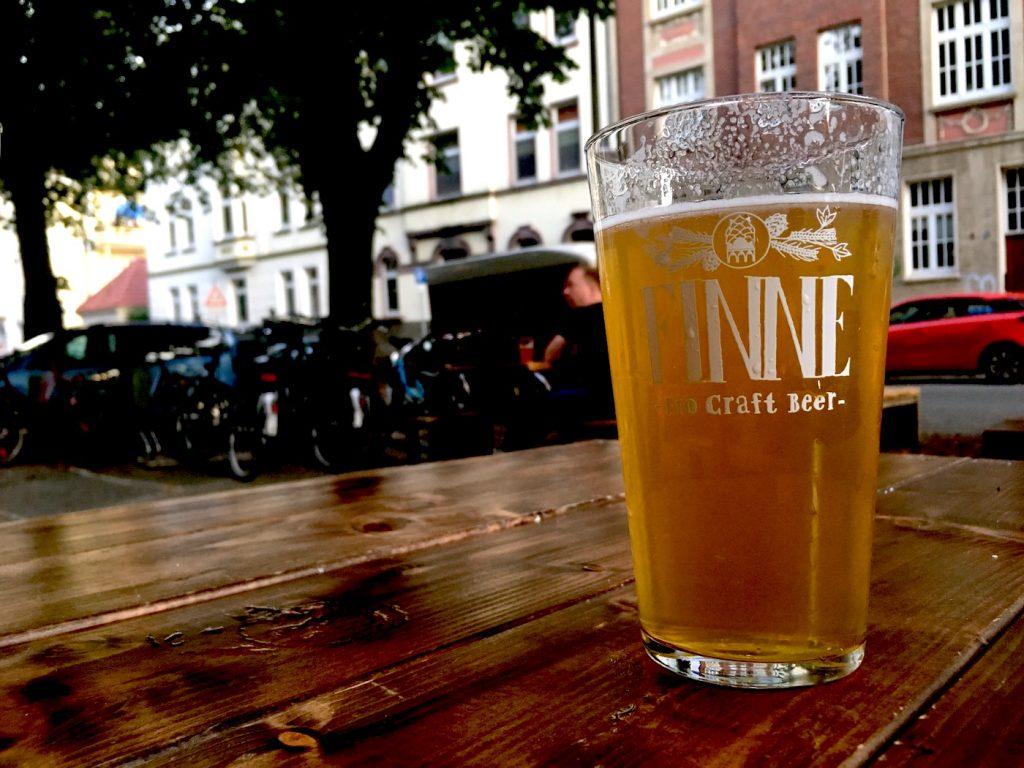 Finne Bio Bier in Muenster