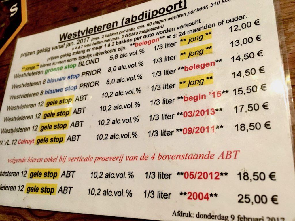 De Kulminator in Antwerpen: Biere für echte Entdecker
