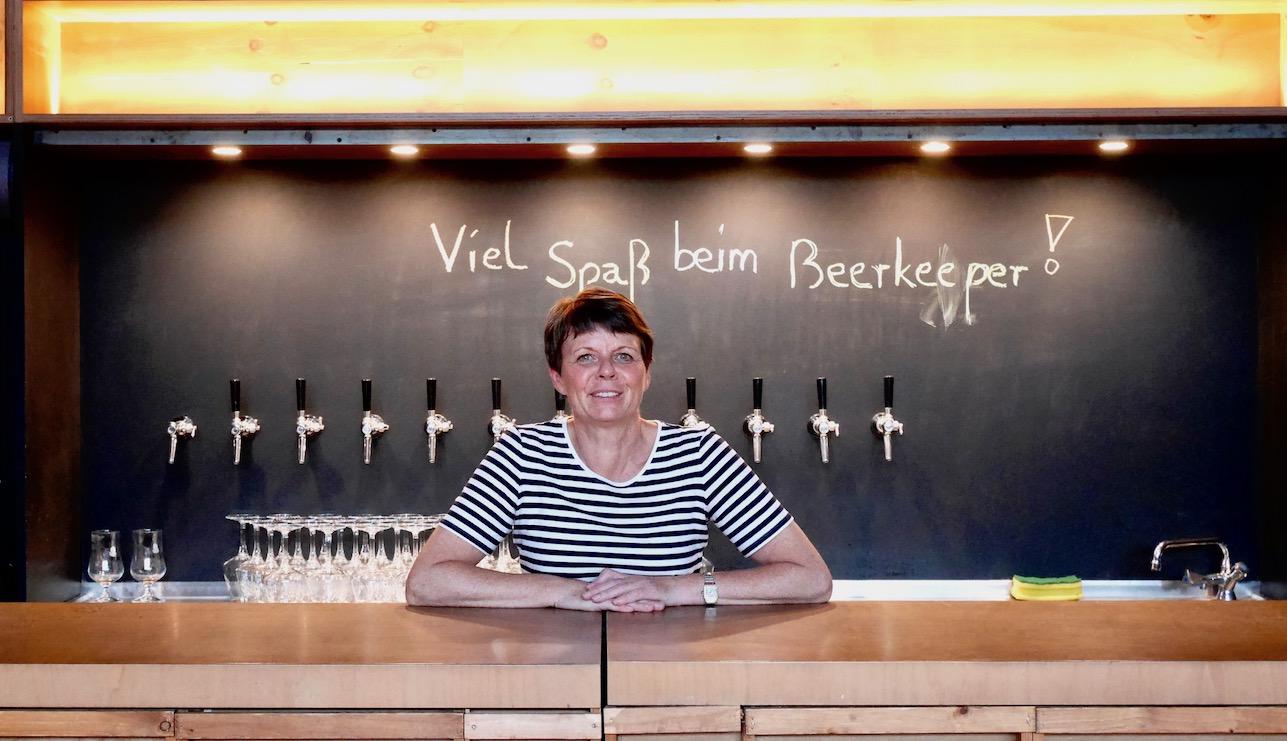 Birgit Rieber beerkeeper Trainerin und Geschäftsführerin Institut fuer Bierkultur