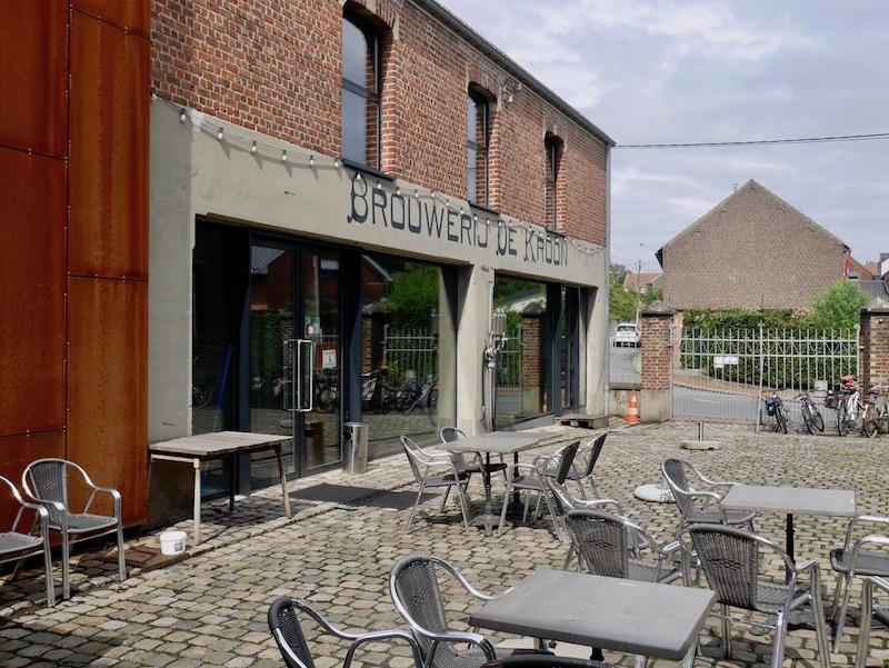 De Kroon in Leuven Belgien, HHopgast auf Bierreise