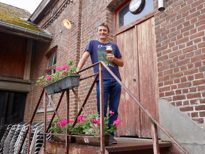 Filip Delvaux von De Kroon, Leuven: HHopcast auf Bierreise