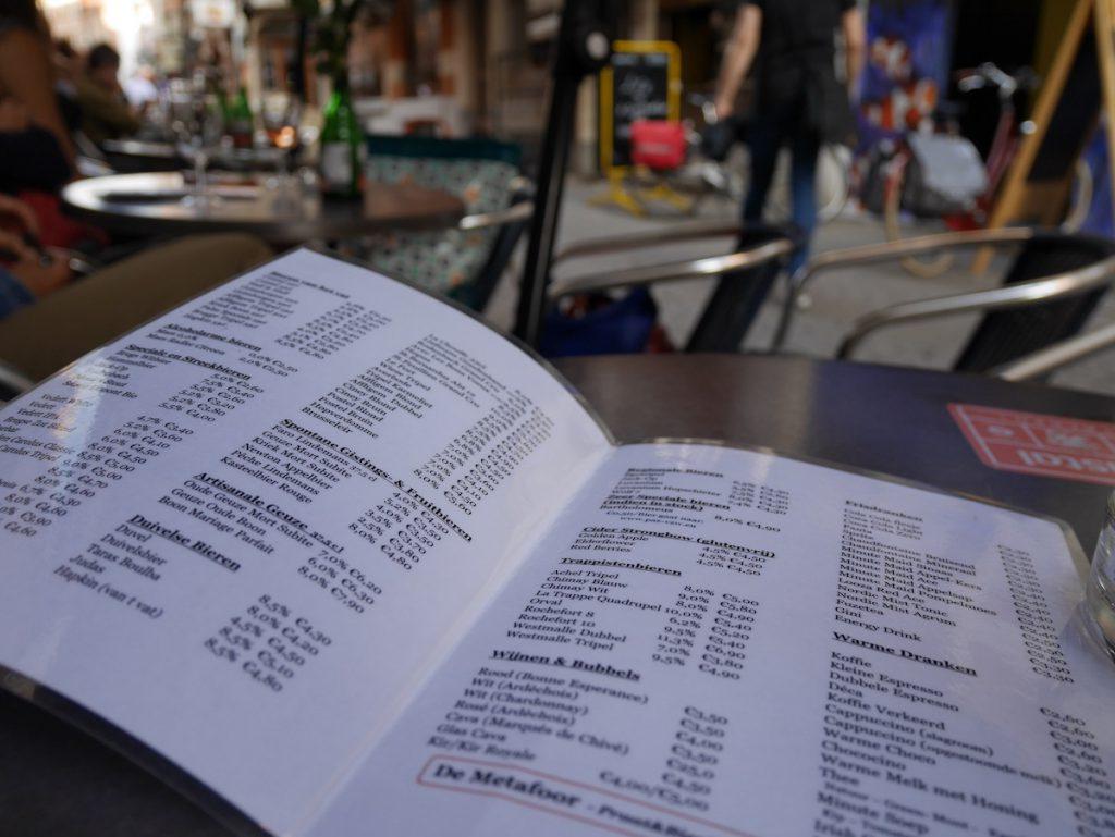 Metafoor in Leuven, HHopcast auf Bierreise, Bier und Bars in Leuven