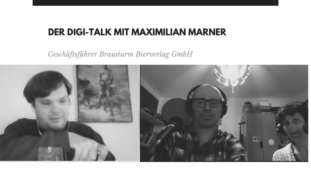HHopcast Digi Talk mit Max Marner von Brausturm