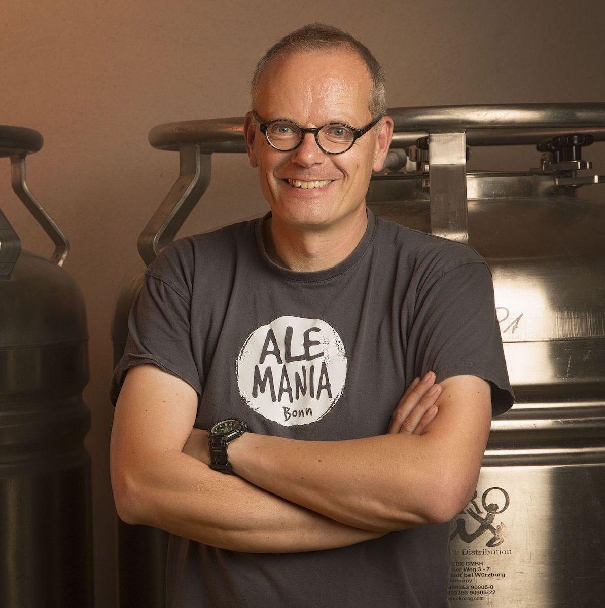 Fritz Wülfing ist Gründer von Ale-Mania Bonn und zu Gast bei HHopcast