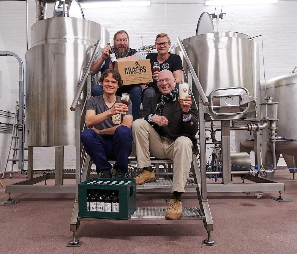 Gründer der National Jürgens Brauerei im Local Heroes Podcast von HHopcast