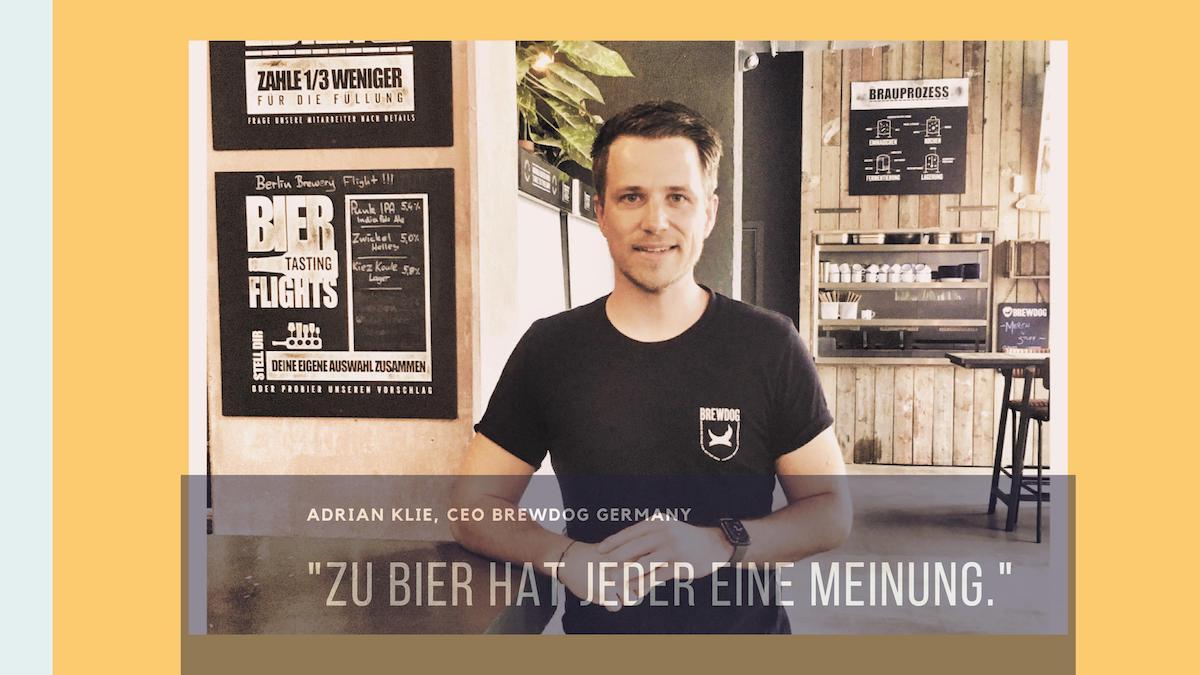 Adrian Klie CEO BrewDog Germany bei HHopcast,dem Craft Beer Podcast