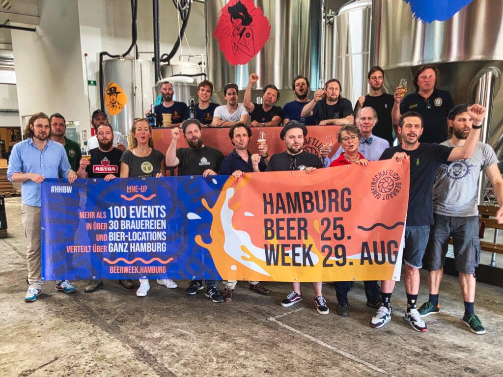 Beer Week CoBrew Bierstadt Hamburg
