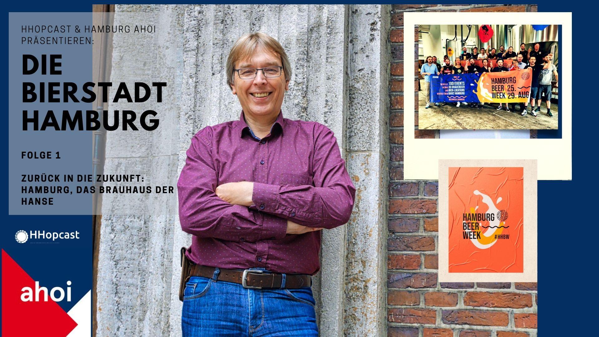 Dr. Ralf Wiechmann erzählt über die Bierstadt Hamburg