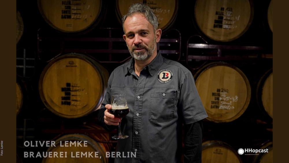 Brauerei Lemke Berlin Oliver Lemke im HHopcast Beer Podcast