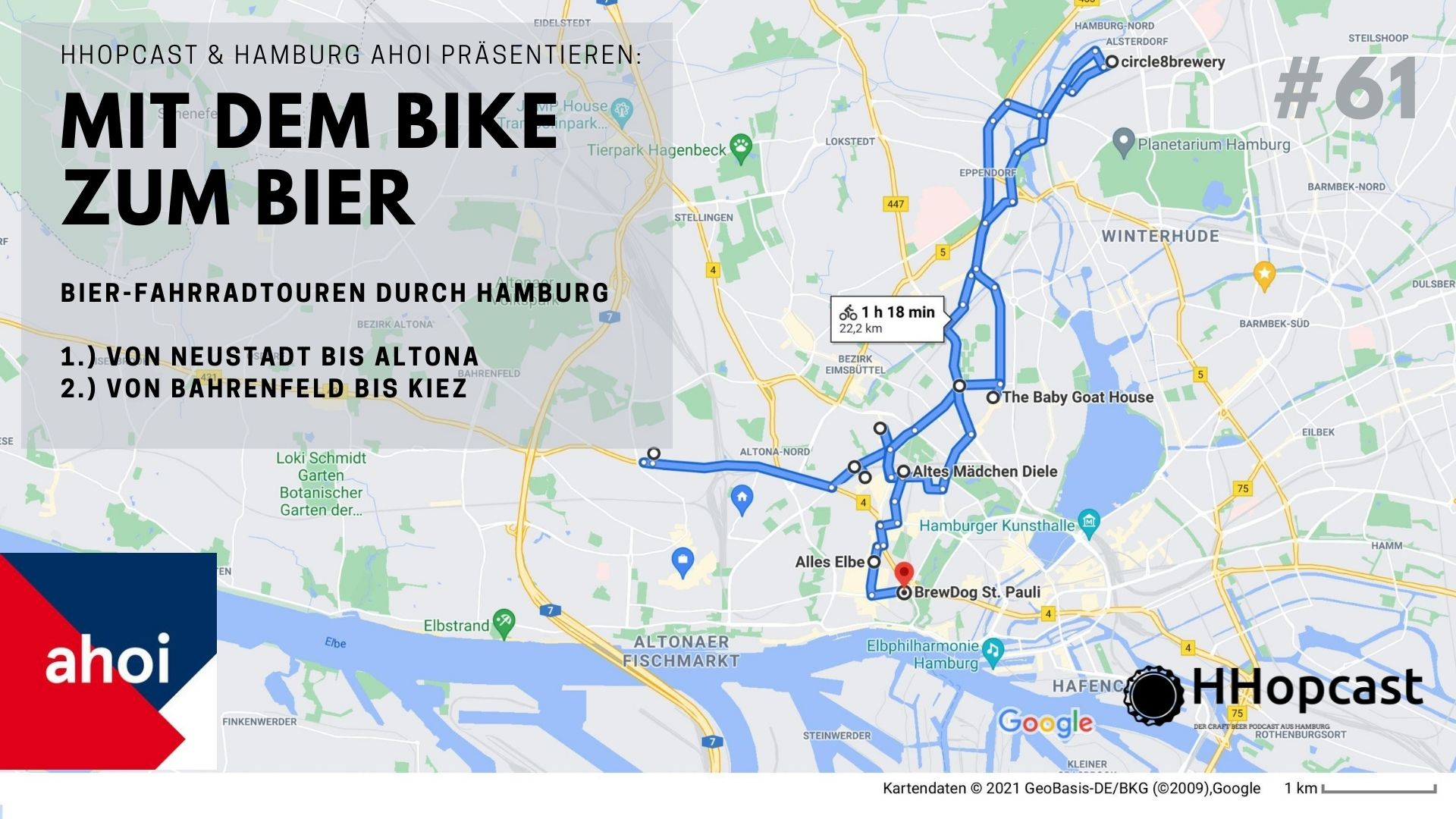 Radtouren durch Hamburg