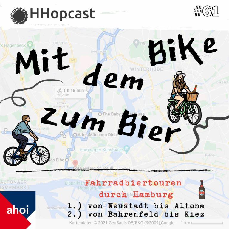 HHopcast Podcast #61 Hamburger Bier – Fahrradtouren