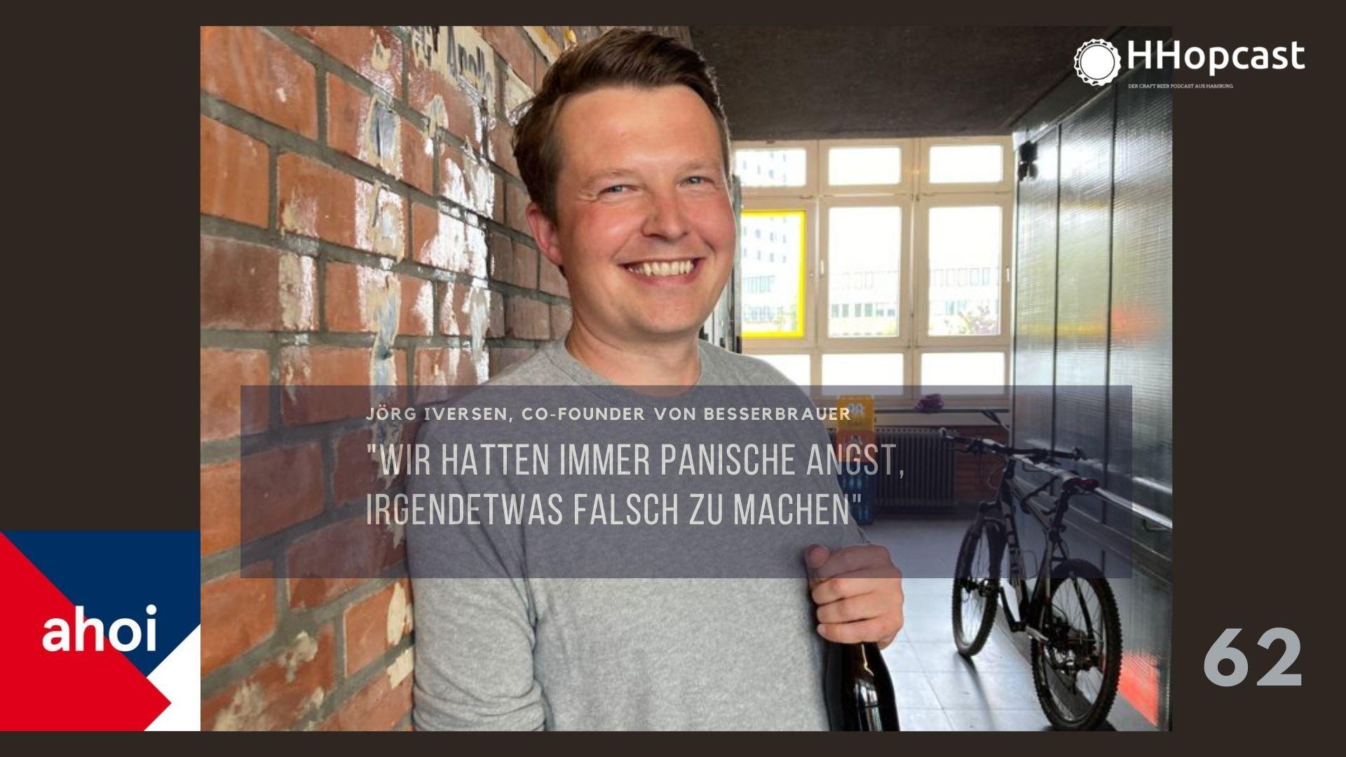 Jörg Iversen von Besserbrauer zu Gast bei HHopcast